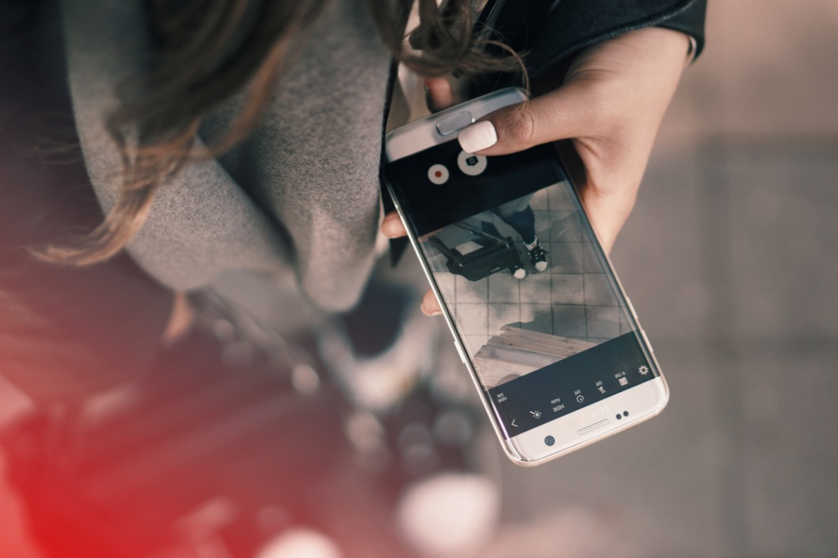 mobile photo app