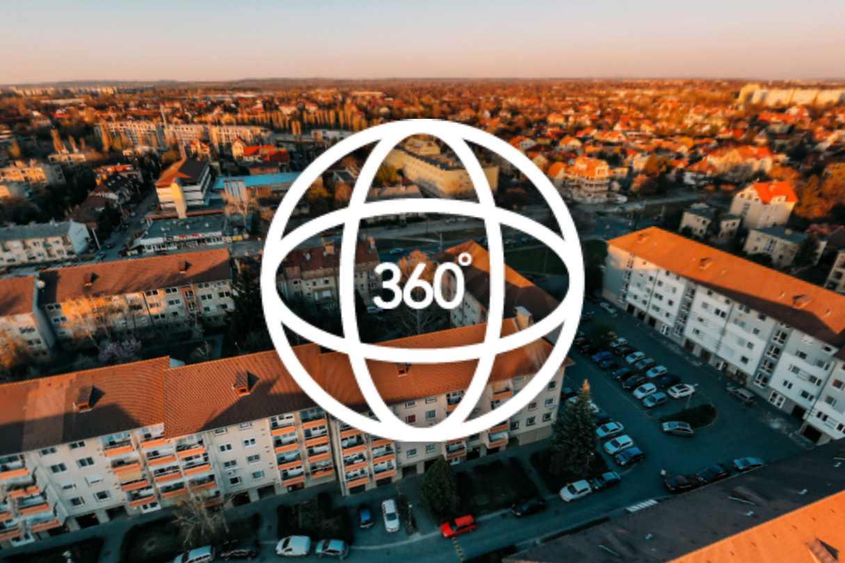 drone panorama 360 zuglo