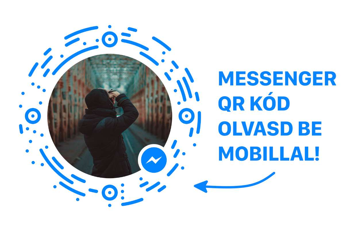 business fiókhoz messenger qr kód