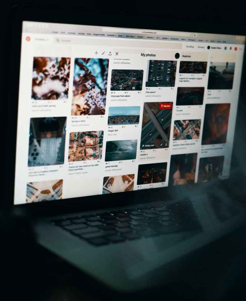 pinterest profil pc oldal marketing