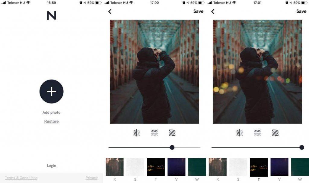 képszerkesztő app Nebi film