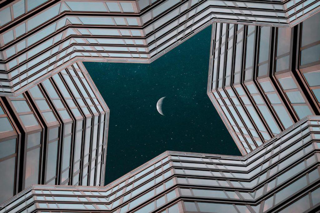 manipulált épületfotó sorozat future breah II. - szabó viktor fotós
