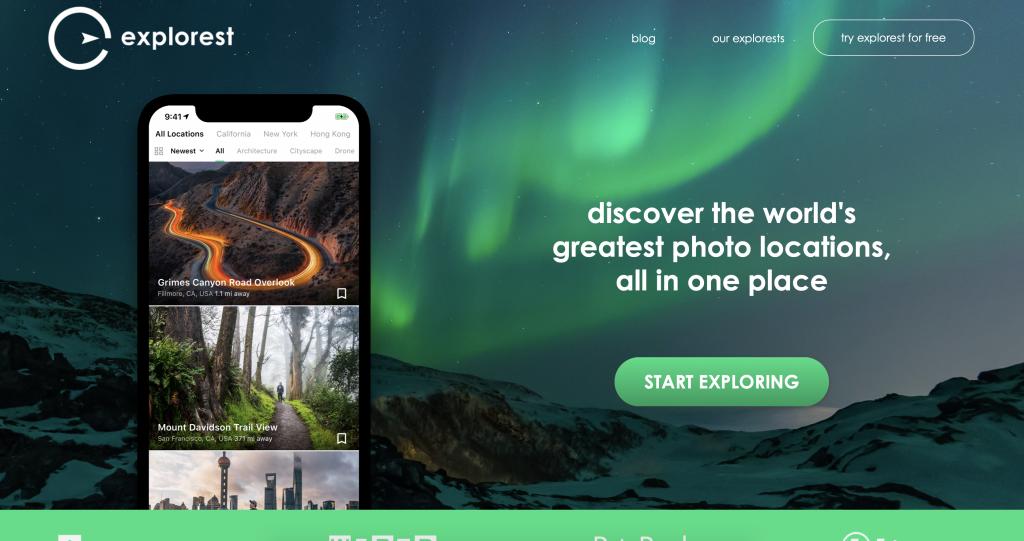 Explorest app
