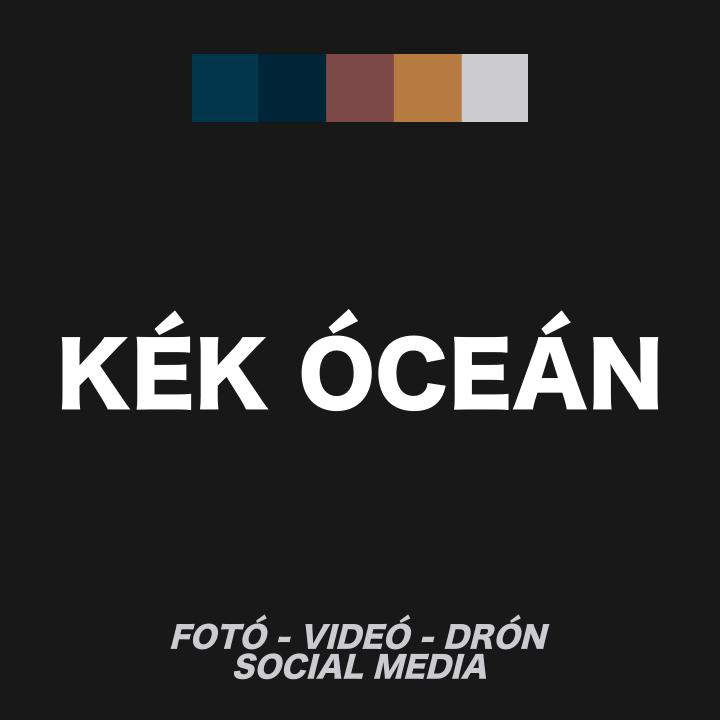 Kék Óceán fotós podcast cover fotója. Szabó Viktor által készített podcast.