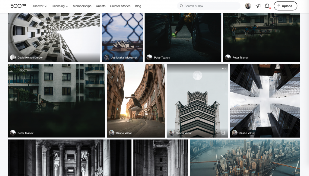 500px Daily Challenges: Week 2 Favorites shortlist