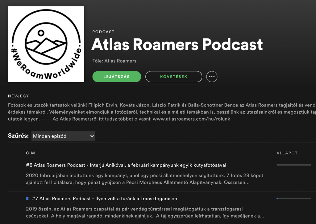 Atlas Roamers Podcast
